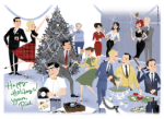 The Art of Conversation: Childfree and Parents at Holiday Parties